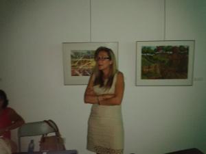 Victoria Romero. Jornadas de medio Ambiente
